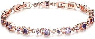 Best purple gold bracelet Reviews