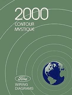 bishko automotive literature 2000 Ford Crown Contour Mercury Mystique Wiring Diagrams Schematic Book