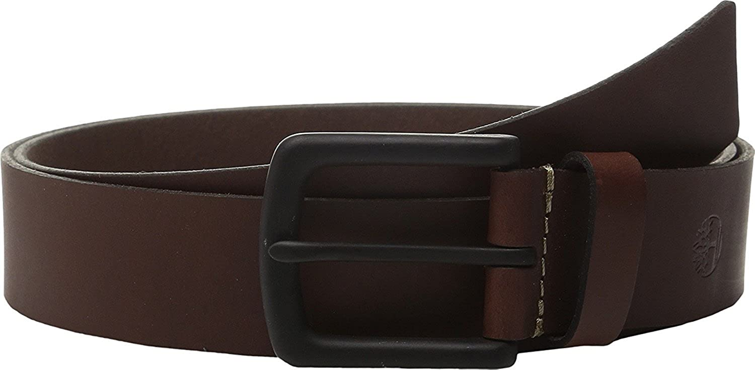 Timberland Men's Pull Up Brown Leather Belt Super beauty product restock Free shipping quality top Genuine