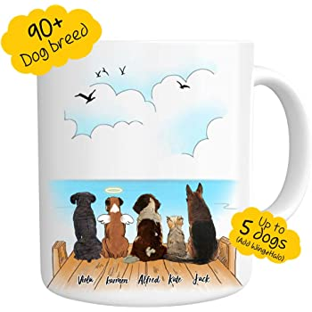 personalized Cup using photos of real name signs CHUCK Coffee Mug