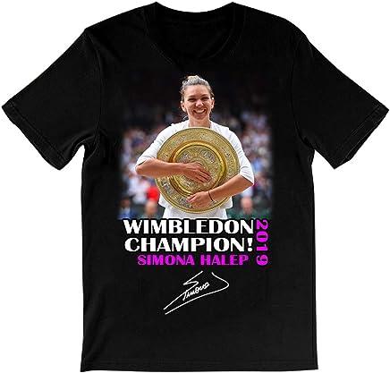 2019 Wim.bledon Champion t Shirt Simona Halep Champions t-Shirt