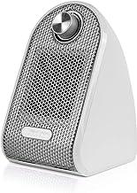 LF-YGJ Mini Calentador - Ventilador Calentador de cerámica escritorios y mesas - Personal PTC Calentador, Blanca