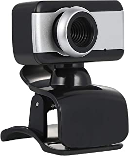 USB Webcam with Microphone, Clip-on USB 2.0 480P Computer Web Camera for PC Computer Laptop Destop Recording Conferencing