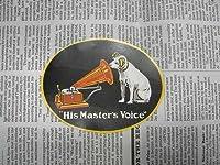 ビクター犬 ニッパー ステッカー / 正規ライセンス商品