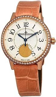 Jaeger LeCoultre Rendez-Vous Cream Dial Automatic Ladies Pink Leather Watch Q3572420