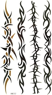 King Horse Waterproof and sweat of the four imaging vine pattern tattoo sticker for men and women