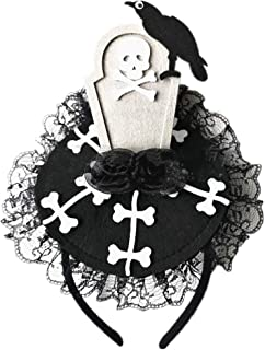 Girls Halloween Headband Witch Hat Spider Pumpkin Hairband Hair Accessory Halloween Cosplay Costume Dress Up Party Supplies