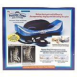 POSTURE PUMP Relief for Low Back Pain Elliptical Back Rocker DISC HYDRATOR (Model 2000)