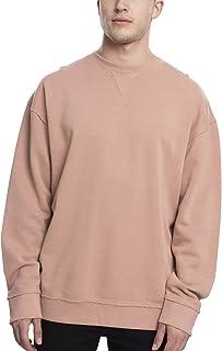 Urban Classics Men's Oversized Open Edge Crew Sweatshirt Pullover