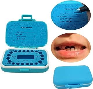 Best baby tooth keepsake box blue Reviews