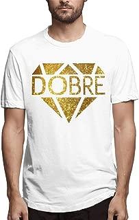 Hot Men Dobre T-Shirt - DIY Fashion Short Sleeve Printed Tees Comfotable