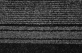 Küchenteppich / Küchenmatte / Teppichläufer Kongo anthrazit, Größe Auswählen:80 x 500 cm - 4
