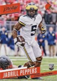 Jabrill Peppers Football Card (Michigan Wolverines, Cleveland Browns) 2017 Panini Prestige Rookie #248. rookie card picture
