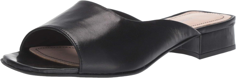 Kenneth Cole New York Womens Emy Square Toe Sandal Heeled Sandal