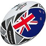 Gilbert Coupe du Monde de Rugby Japon 2019Boule de Drapeau de la Nouvelle-Zélande 5 Multicolore