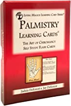 Palmistry Learning Cards - Living Magick Learning Card Series - Self Study Flash Cards