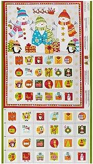 Andover Makower UK Festive 2019 Festive Advent Calendar Multi Fabric