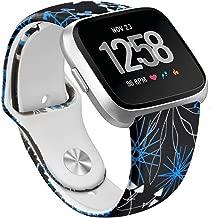 OenFoto Sport Cinturino compatibili Fitbit Ionic,Nylon Cinturino Inregolabile Sostituzione Cinturino dellorologio Bracciale Accessorio per Fitbit Ionic Smart Watch Large Small