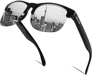 BangLong Gafas de sol para mujer y hombre, gafas de sol polarizadas, retro, clásicas, deportivas, para conductores, mujere...