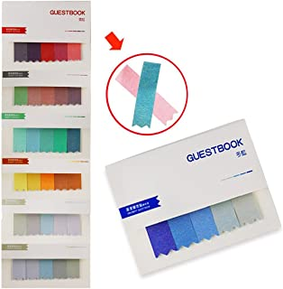 Newbested 800 PCS Gradient Color Sticky Note Self-Stick Note 100Pcs/Pad, 8Pads/Pack