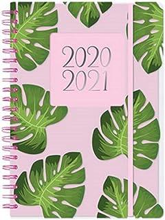 Agenda escolar 2020-2021, tamaño A5, día por página, para