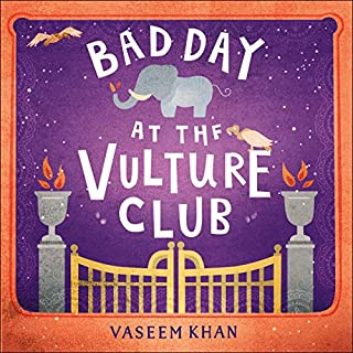 Bad Day at the Vulture Club audiobook cover art