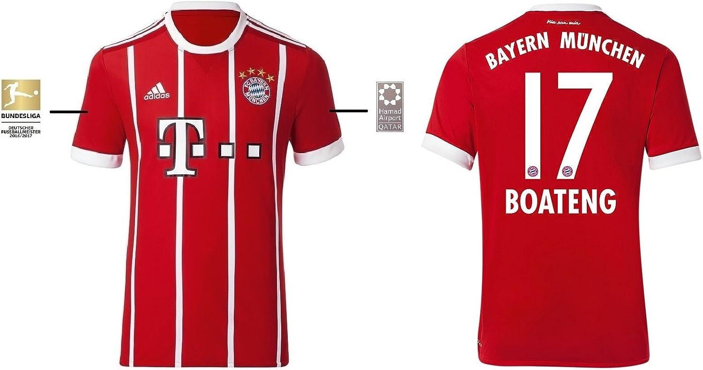 Trikot Herren FC Bayern 2017-2018 Home BL - Boateng 17