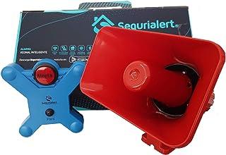 XIOT Segurialert - Alarma Vecinal WiFi. con Sirena electrónica. Activación Manual. Activación remota Desde Cualquier ubica...