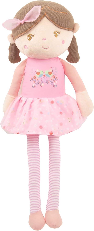 Soft Plush Pink Emily Rag Doll 15 Linzy Toys