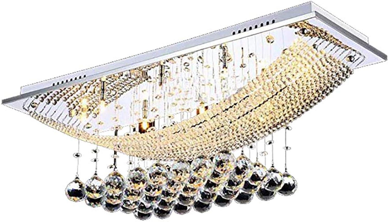 SXMY üppige Kristall Pendelleuchte mit 8 Lichtern Leuchte Decke Errten-Einfassung Kronleuchter Beleuchtung mit Glühbirne enthalten Fit für Küche Esszimmer Wohnzimmer-Weiß