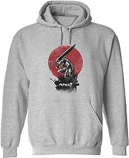 CCANE7 Men's Sudadera con Capucha Personalizada Huge Sword Divertido gráfico Sudadera con Capucha