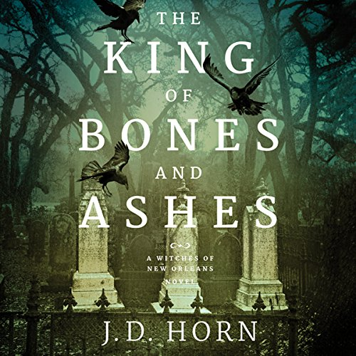 The King of Bones and Ashes audiobook cover art