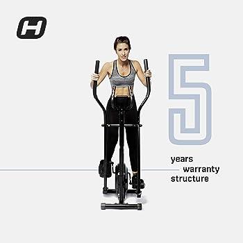 BT BODYTONE - DE10 - Bicicleta Eliptica para Fitness en Casa - Display Led y Pulsómetro - Peso Máximo Usuario 110 kg: Amazon.es: Deportes y aire libre