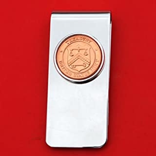 US Department of Treasury Seal Mint Token Coin Solid Brass Silver Money Clip New - High Quality