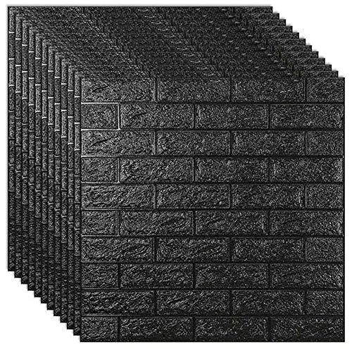 3D Wall Stickers Imitation Brick Bedroom Decor Self-adhesive Wallpaper Waterproof Panels Living Room Kitchen TV Home Decoration