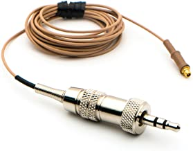 Countryman IsoMax E6 Replacement Cable for Sennheiser - Tan, 1mm Cable