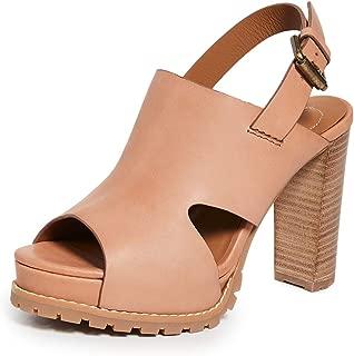 Women's Brooke Platform Sandals, Tan, 11 Medium US