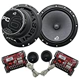 HIGH QUALITY CAR AUDIO SPEAKERS | Looking for premium car audio speakers that will not break the bank? These 3-way component speakers are some of the very best in the market and offer high performance and affordability! This kit includes two 6.5 inch...