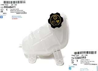 General Motors Genuine Coolant Tank Surge for Chevy Chevrolet Sonic with Tank Cap (13502353) Part: 95048411