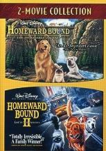 Homeward Bound 2-Movie Collection (Homeward Bound / Homeward Bound II: Lost in San Francisco) (Cover image may vary)