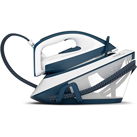 Calor Centrale Vapeur Express Compact 5,7 Bars Effet Pressing jusqu'à 350g /min Bleu SV7110C0