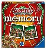 Ravensburger Italy Gormiti Memory in Formato Pocket, 15x15 cm, Gioco, 24 Coppie in Cartone...