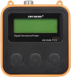 Atlojoys Buscador de sat/élite digital Medidor de se/ñal satelital Mini medidor buscador se/ñal satelital digital con pantalla LCD Satfinder digital con br/újula Buscador sat/élite inteligente compatible