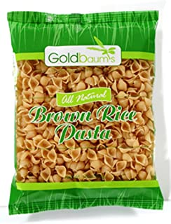 Goldbaums Brown Rice Pasta - Shells, 16-Ounce (Pack of 6)