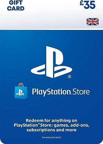 PlayStation PSN Card 35 GBP Wallet Top Up   PS5/PS4   PSN Download Code - UK account