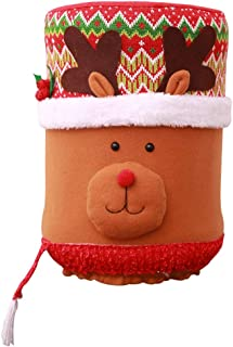 Water Dispenser Bucket Cloth Cover Water Buckle Reusable Durable Christmas Element for Water Dispenser(3)