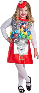 Dress Up America Gumball Machine Costume - Size Large 12-14