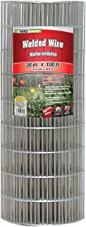 YARDGARD 308311B Fence, Height-36 Inches x Length-100 Ft, Color - Galvanized