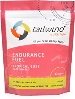 Tailwind Nutrition Caffeinated Endurance Fuel Tropical Buzz 30 Serving