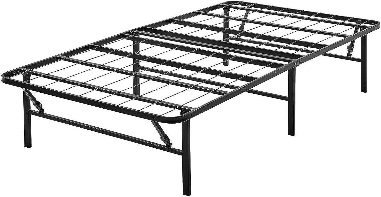 GXK Bed Frame Twin San Antonio Mall Size Memphis Mall Stee Platform Mattress 14 Inch